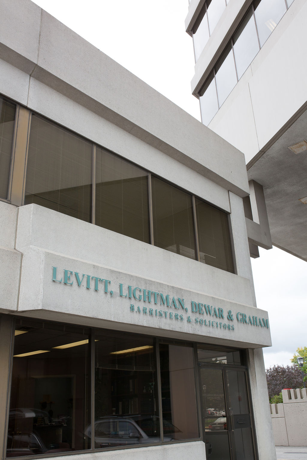 Facade of LLDG building